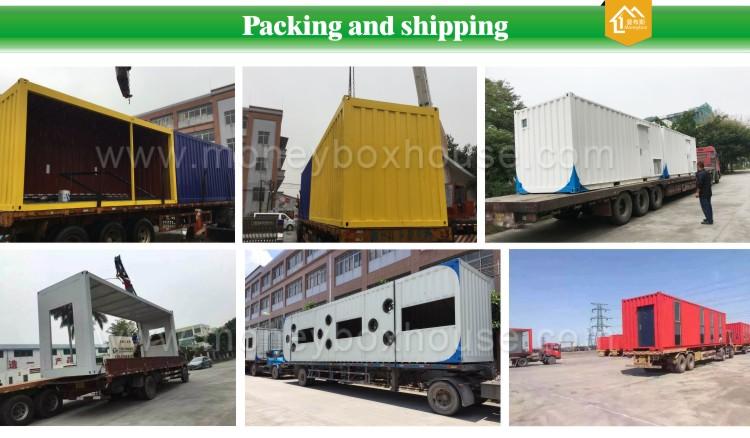 Container Verkoop Huizen : Beste hete verkoop luxe afgewerkt prefab verzending container huizen